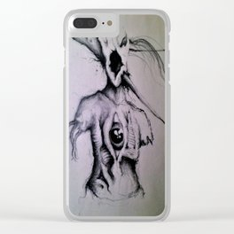 Toothache Clear iPhone Case