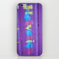 helvetica iPhone & iPod Skins featuring Helvetica Graffiti by Kelsey Horne Photographs