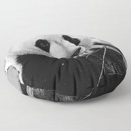 Panda Bear Munchies Floor Pillow