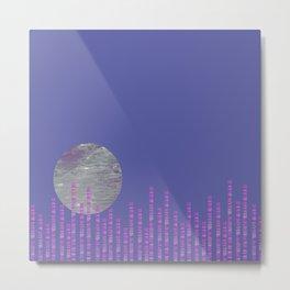 Moon Over the City 1 Metal Print