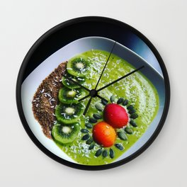 Choose life & eat to live Wall Clock