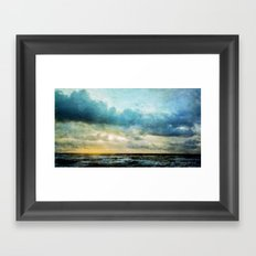 The Magical Sea  Framed Art Print