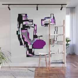 Android Pixelated Wall Mural