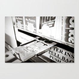 Laundry Hand Canvas Print