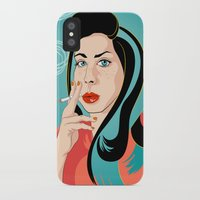 ali iPhone & iPod Cases featuring Ali by AvalonClare