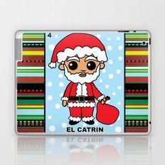 Christmas Loteria El Catrin Laptop & iPad Skin