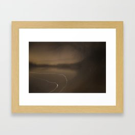Tides Framed Art Print