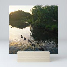 Morning Geese Mini Art Print