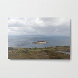 Lone Bright Isle Metal Print