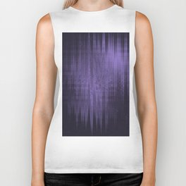 Random weird looking unclear, bright and shaky dark slate gray, dark slateblue and light slate gray Biker Tank