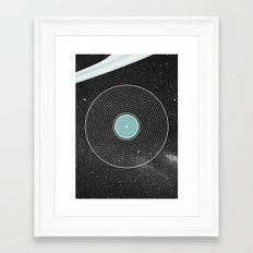 Space Disco Framed Art Print