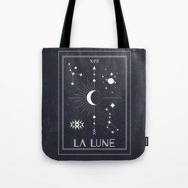 The Moon or La Lune Tarot Tote Bag