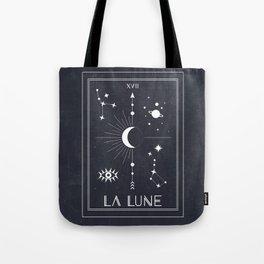 The Moon or La Lune Tarot Tote Bag