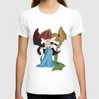 mother of dragons T-shirts featuring Mother of Dragons by Danielle Gransaull