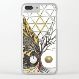 Passwords Clear iPhone Case