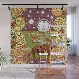 Freddie Croaker and the Clockworks Moonlight Sonata. Wall Mural