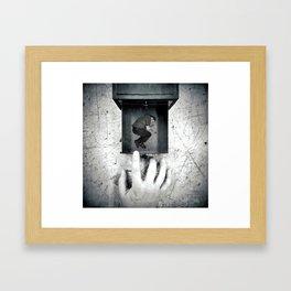 if found please return to... Framed Art Print