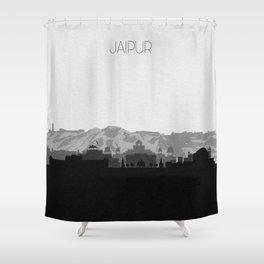 City Skylines: Jaipur Shower Curtain