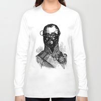 bdsm Long Sleeve T-shirts featuring BDSM XXVII by DIVIDUS