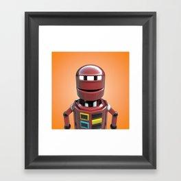 Andrew the robot. Framed Art Print