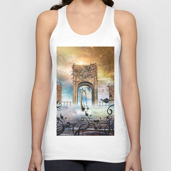 The boat Unisex Tank Top