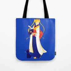 Geisha Moon Tote Bag