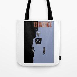 Cloneface Tote Bag