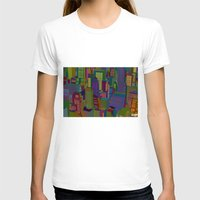 cityscape T-shirts featuring Cityscape night by Glen Gould