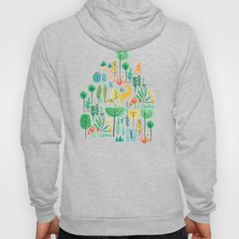 Jungle life with golden unicorn Hoody