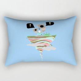 Dreaming for an adventure. Rectangular Pillow