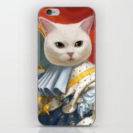 Cat King iPhone Skin