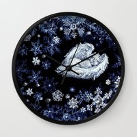 holiday Wall Clocks featuring Holiday by Ivanushka Tzepesh