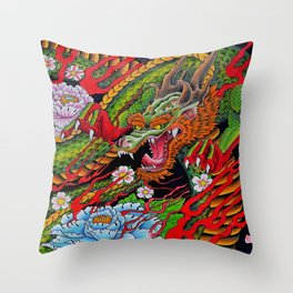 'Defend' 11''x 14'' Colored Pencil and Marker on Bristol Board 2012 Dan Gribben  Throw Pillow