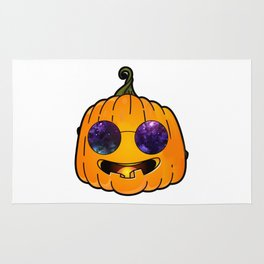pumpkin glases Rug