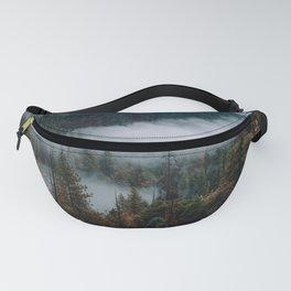 Mist Running through Yosemite Valley Fanny Pack