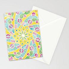 Happy Pattern Stationery Cards