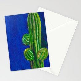 Cacti Blue Stationery Cards