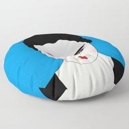 Grumpy Geisha // Japanese Style Floor Pillow
