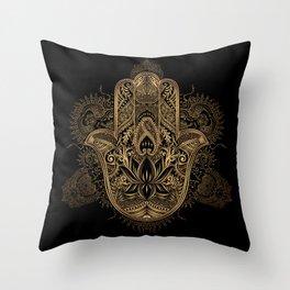 Hasma Hand of Fatima Throw Pillow