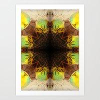 sunglasses Art Prints featuring Sunglasses by MICALI/ M J