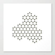 #304 Cluster – Geometry Daily Canvas Print