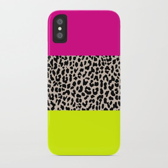 Leopard National Flag X iPhone Case