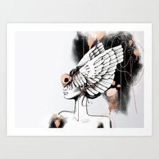 Bird of Minerva Art Print