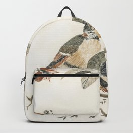 A Blue Tit and a Great Tit by Johan Teyler (1648-1709) Backpack