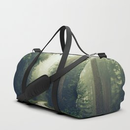 Redwood Forest Adventure - Nature Photography Duffle Bag