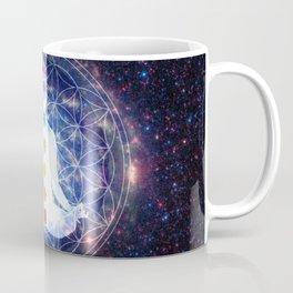 Flower of Life Chakra Lightbody Meditation Coffee Mug
