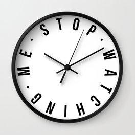 Stop Watch - Modern Noon Wall Clock