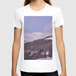 Purple Moutain Mont Blanc T-shirt