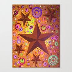Stars & Circles  Canvas Print