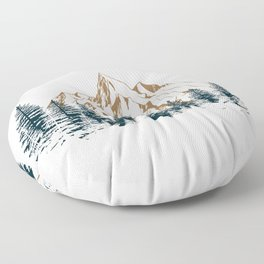 mountain # 4 Floor Pillow